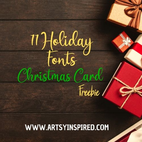 best holiday fonts free christmas card artsyinspired best holiday fonts free christmas